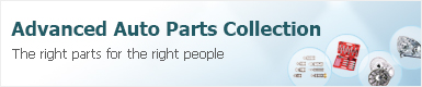 Advanced auto parts collection
